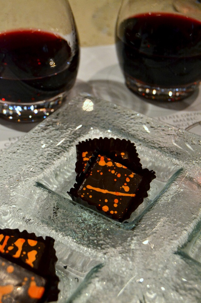 Chocolate Tasting + Wine Pairing at the Salty Dog Gastropub on-board the Ruby Princess.