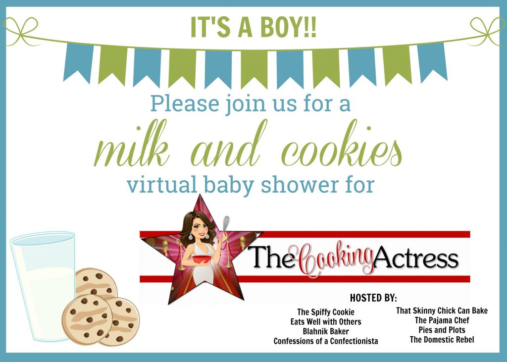 invitation for a virtual baby shower