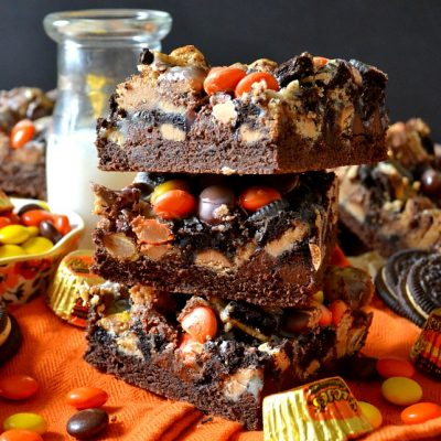 Peanut Butter Cup Magic Bars