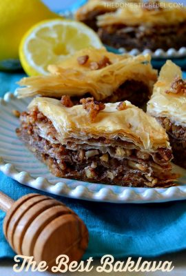 Best Ever (Easy!) Baklava