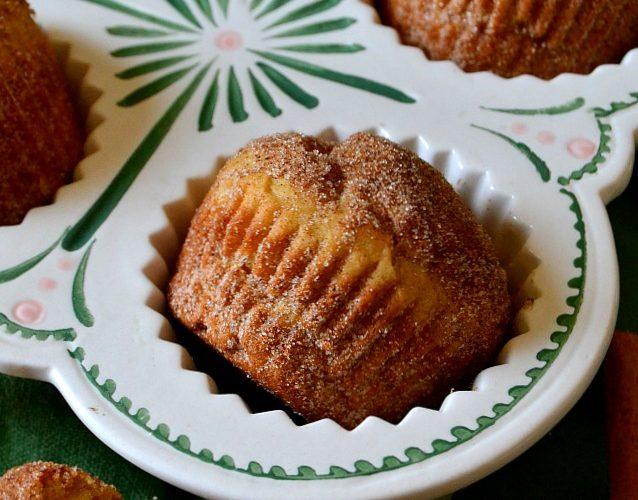 Churro Donut Muffins
