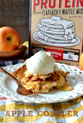 Easy Apple Cobbler