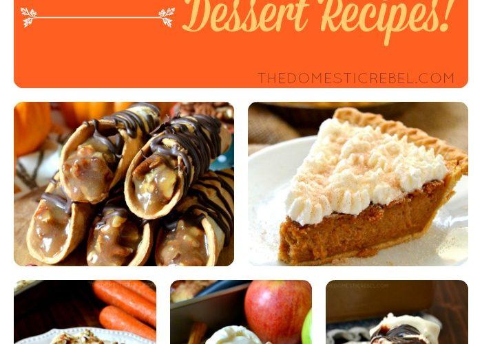 Last Minute Thanksgiving Dessert Recipes!