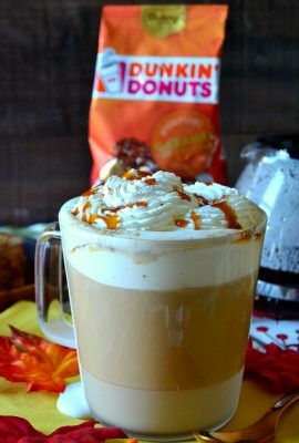 Dunkin' Donuts® Caramel Brulee Latte Recipe