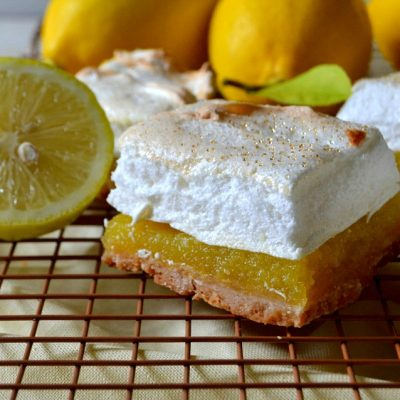 Shortcut Lemon Meringue Pie Bars