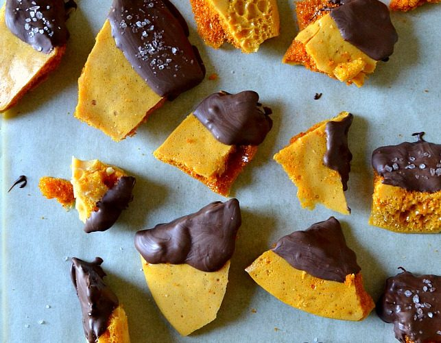 Old-Fashioned Honeycomb Sponge Candy