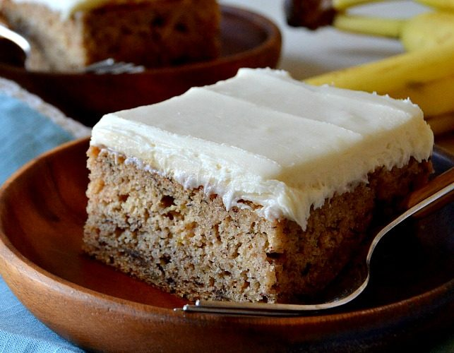 Simply Perfect Banana Cake