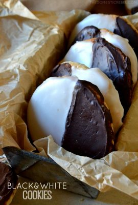 Best Black and White Cookies