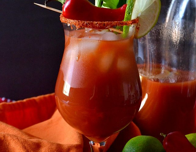 Zodiac Cocktails – Aries: Bloody Mary Margarita