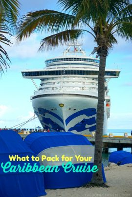 What To Pack For Your Caribbean Cruise (And What To Leave Behind!)