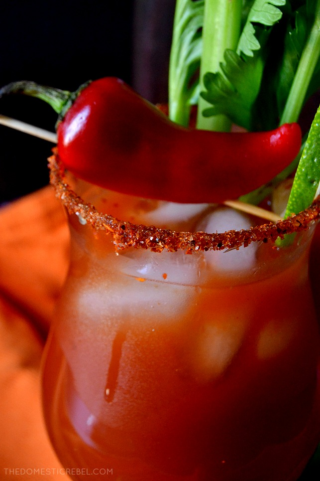 This BLOODY MARY MARGARITA reminds me of fiery, passionate, assertive Aries, the rams of the Zodiac in my Zodiac Cocktail Series! Savory, tangy, spicy and delicious, this twist on a classic is so flavorful!