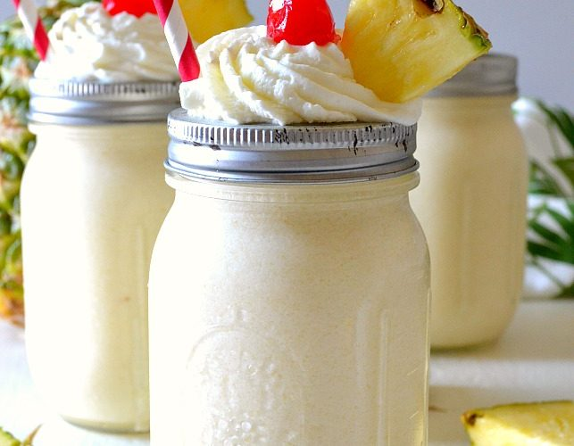 Boozy Pineapple Dole Whips
