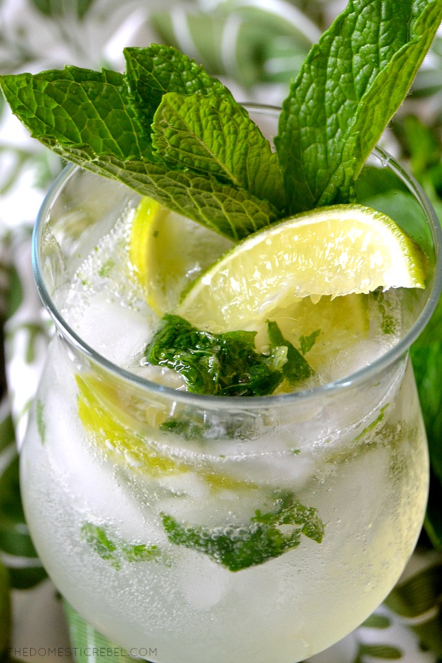 This Authentic Puerto Rican Mojito is absolutely divine! If you think you knew how to make an amazing mojito, think again! Simple, refreshing and easy with REAL ingredients (no bottled lime juice here!). Absolutely tasty!