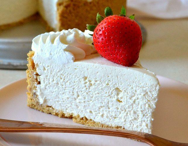 Best Ever No-Bake Cheesecake