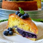 This Lemon Blueberry Piecaken is out of this world AMAZING and so EASY to make! A moist lemon cake is stuffed with an ENTIRE juicy, gooey blueberry pie for an impressive dessert everyone will adore!