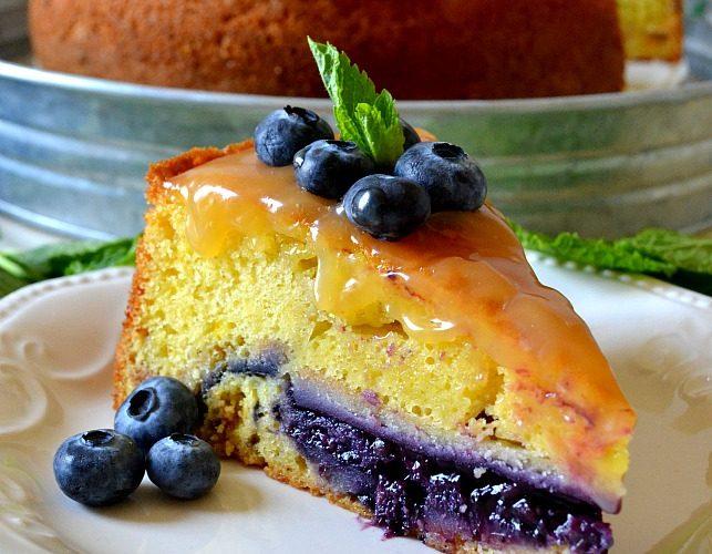 Lemon Blueberry Piecaken