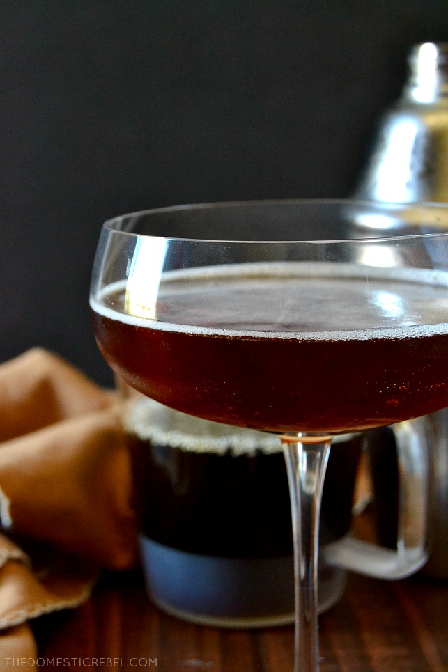 This ESPRESSO MARTINI is sweet, strong, and straight-up, just like practical, straightforward Virgos in my Zodiac Cocktail Series! Made with just three ingredients, these sassy martinis pack a serious punch.