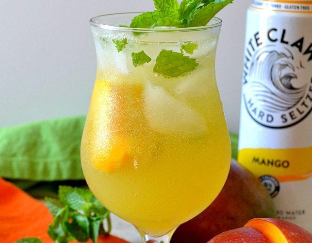 White Claw Week: White Claw Mango Mojito