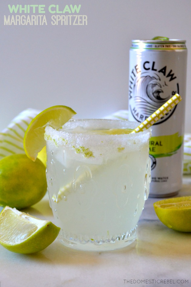 White Claw Margarita Spritzers!