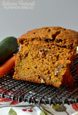 Autumn Harvest Pumpkin Bread