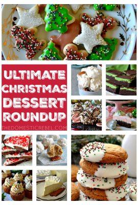 ULTIMATE Christmas Dessert Recipe Roundup!