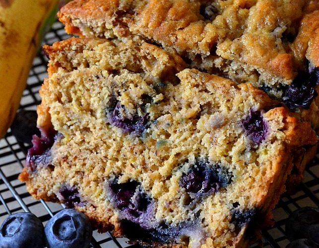 Best Ever Blueberry Banana Bread