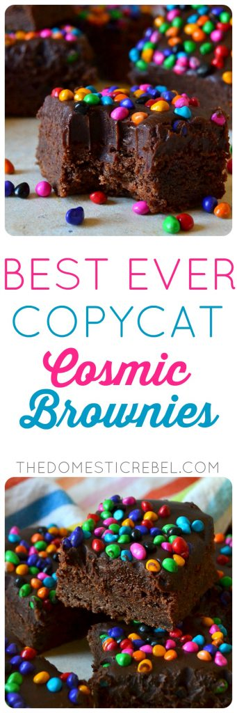 copycat cosmic brownies collage