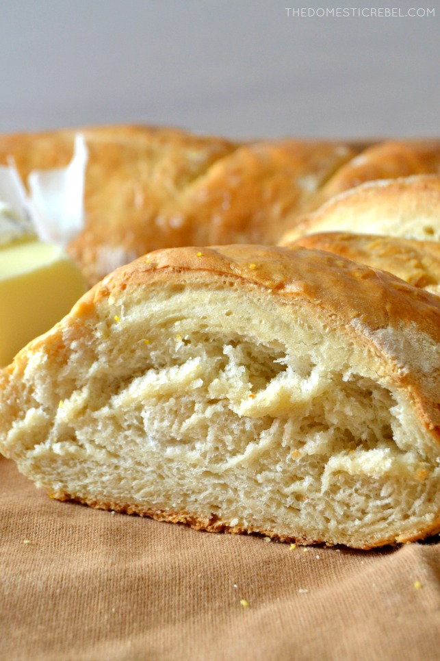 french bread sliced on brown fabric