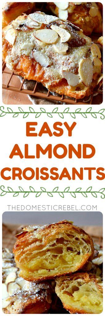 almond croissants collage