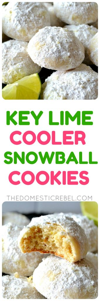 key lime cooler cookies collage