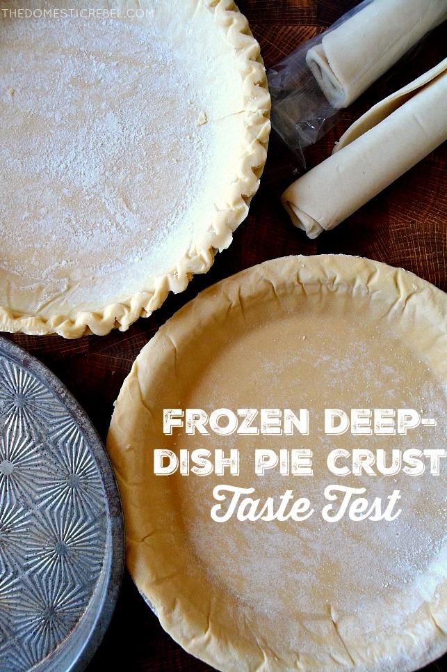 Frozen Deep Dish Pie Crusts photo of pie crusts arranged together