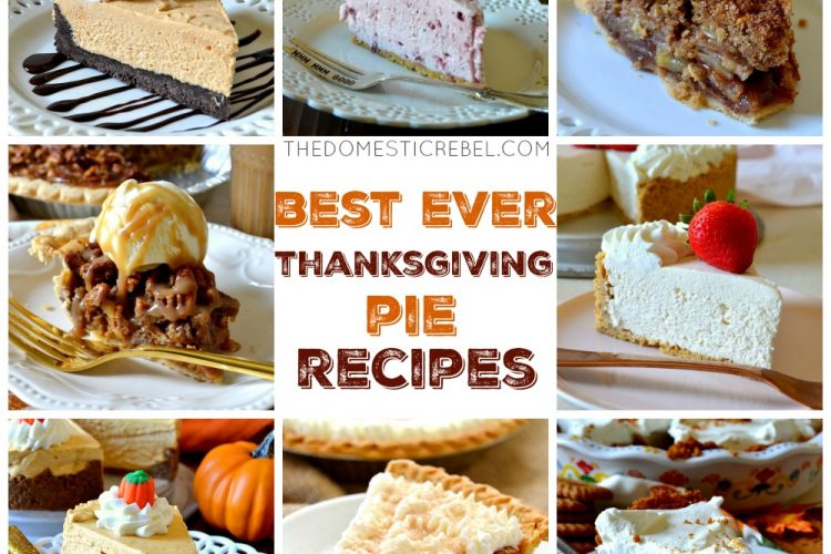 Best Ever Thanksgiving Pie Recipes