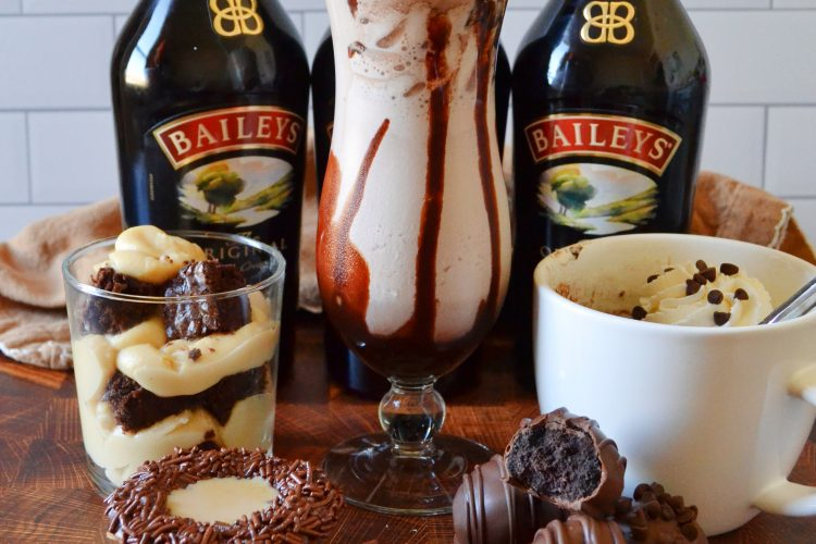 5 Amazing & Easy Baileys Recipes!