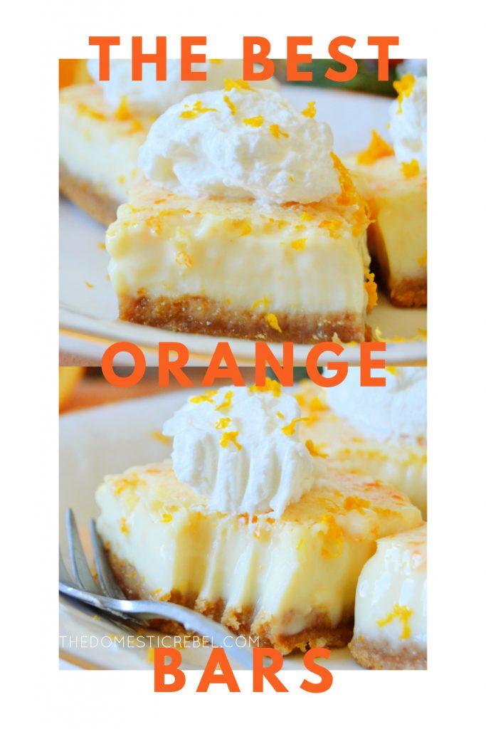 best ever orange bars photo collage