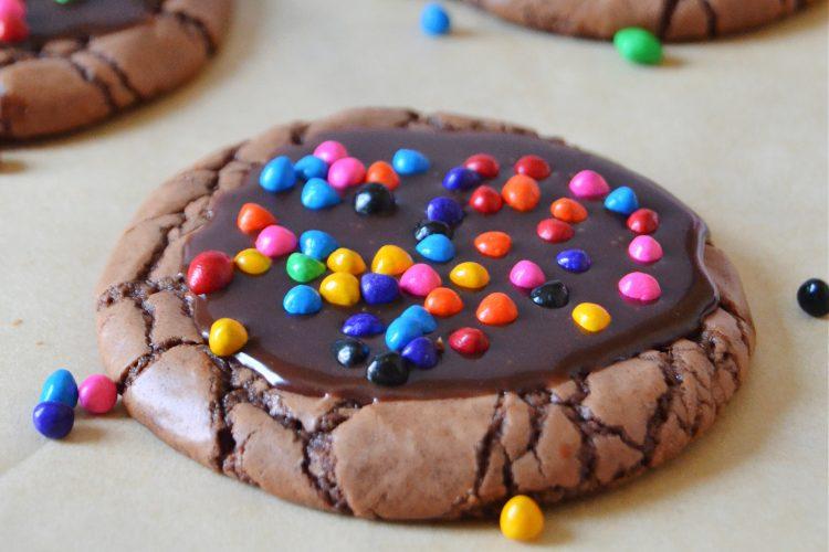 The Best Copycat Cosmic Brownie Cookies